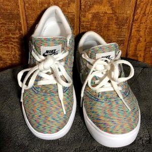 Nike SB Check Shoes Multi-Color/White/Black Size 1